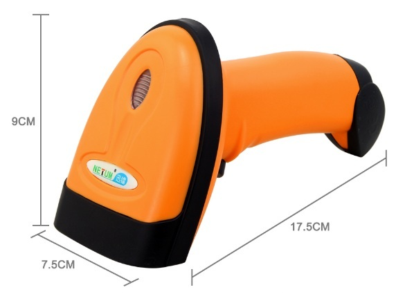 NT-1228 Wired 2D QR Barcode Scanner -  Dimensions
